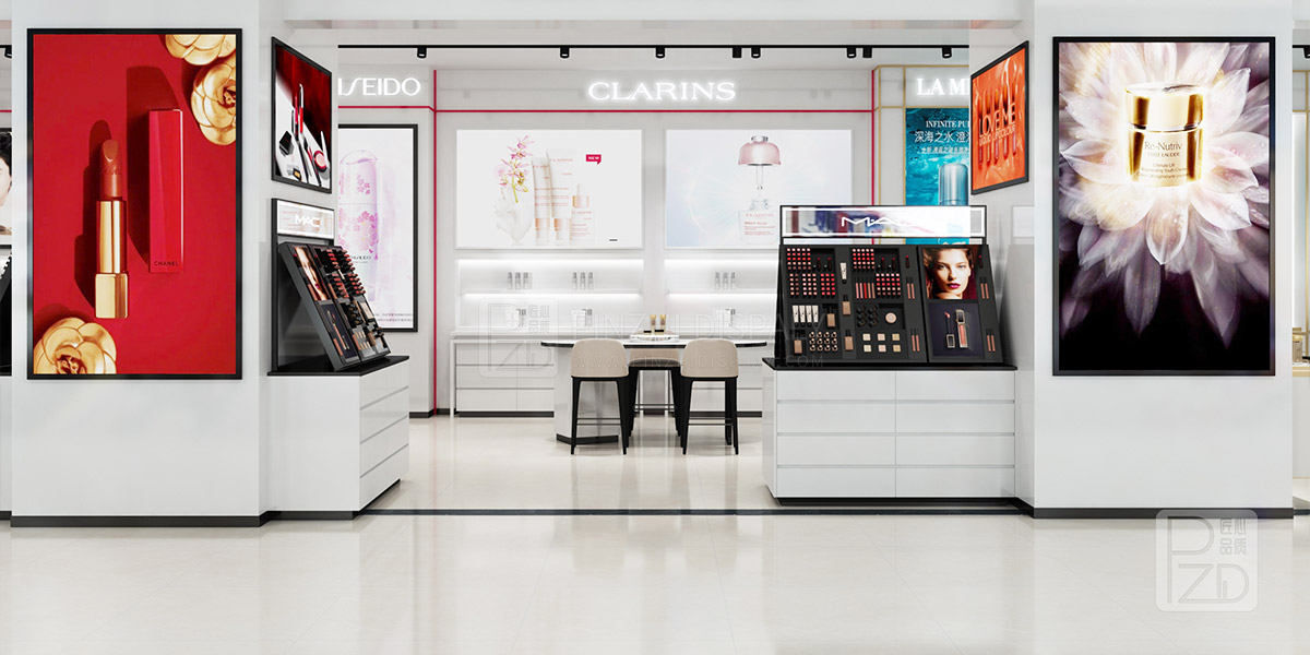 cosmetics store interior design project