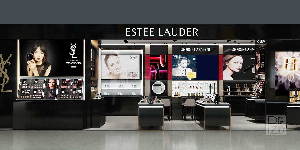 Cosmetic shop decoration design