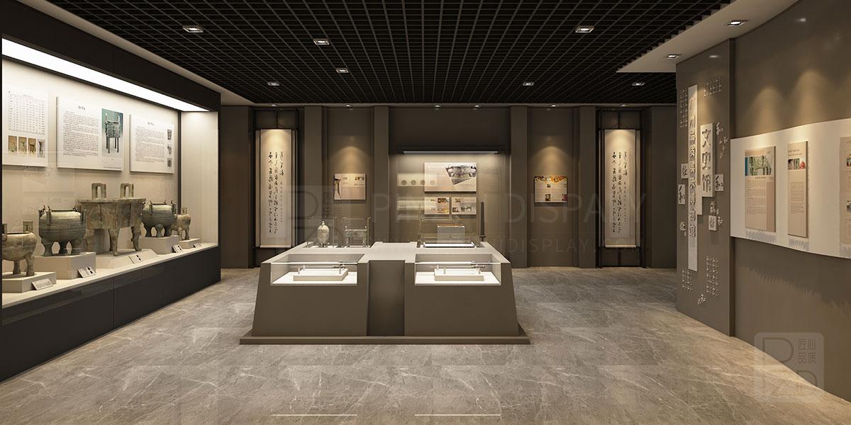 【Hongkong】Small museum display design